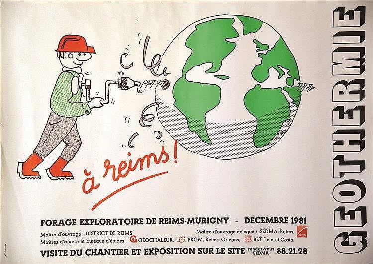 Geothermie à Reims     1981