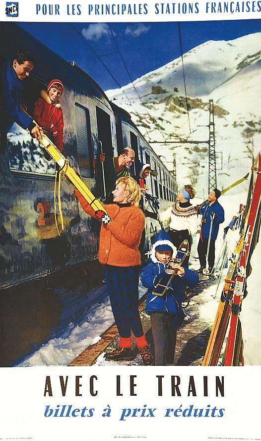MGL Avec le train 1961