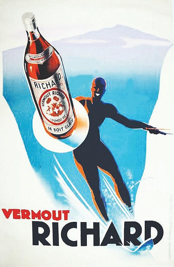 MAURUS Vermouth Richard vers 1930 Chambéry ( Savoie )