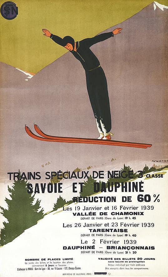 NAURAC  Savoie & Dauphiné     1939