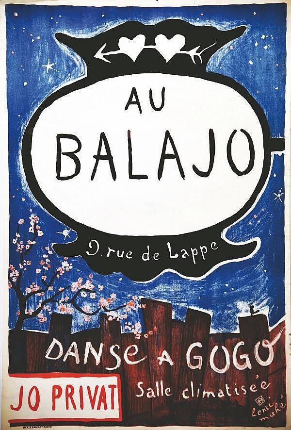 MAHE HENRI Au Balajo - Danse à Gogo Jo Privat vers 1930