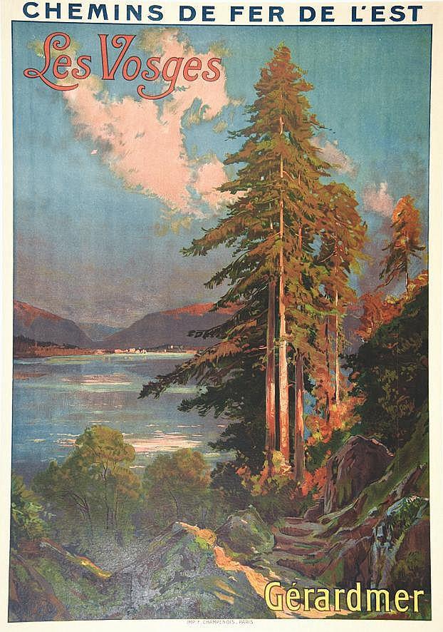 TAUZIN  Gérardmer - Les Vosges     vers 1900