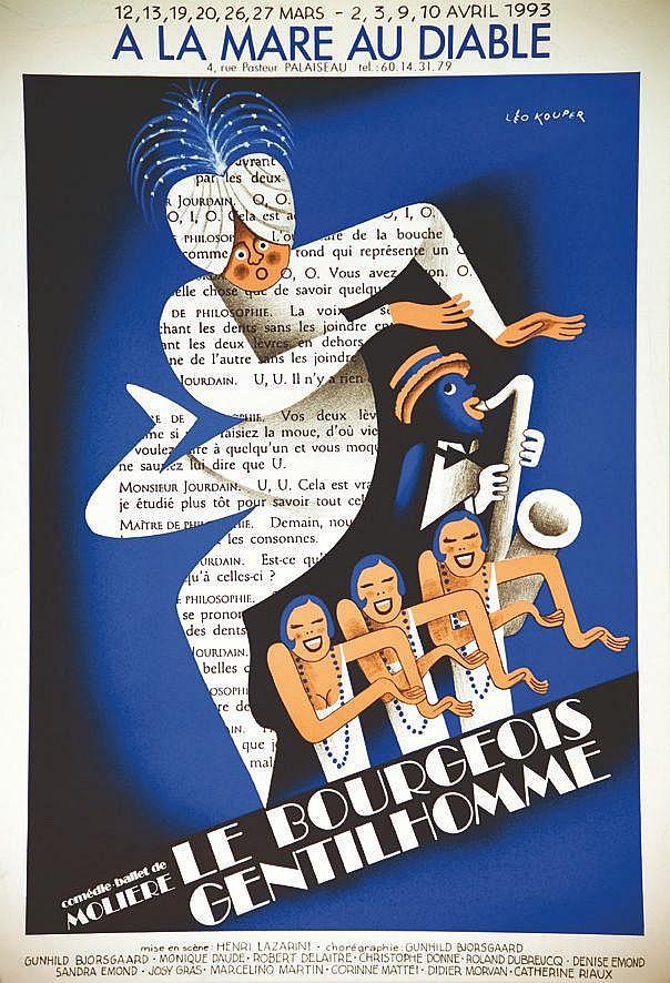 KOUPER LEO  A la Mare au Diable - Comédie-ballet de Molière Le Bourgeois Gentilhomme     1993  Palaiseau ( Essonne )