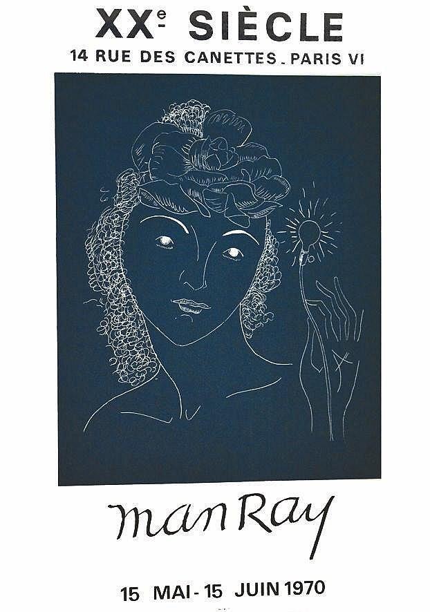 MAN RAY  Man Ray  XX ième Siécle     1970