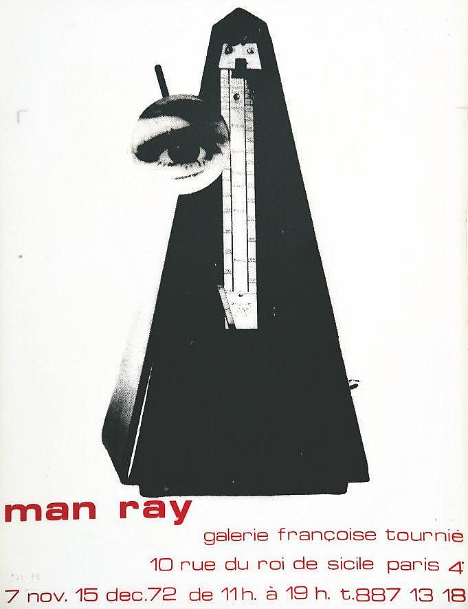 MAN RAY Man Ray Galerie Françoise Tournié 1972