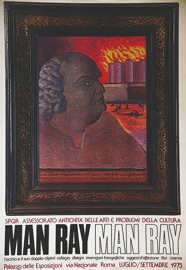 MAN RAY Marquis de Sade - Man Ray Pallazzo del Esposizioni Roma 1975