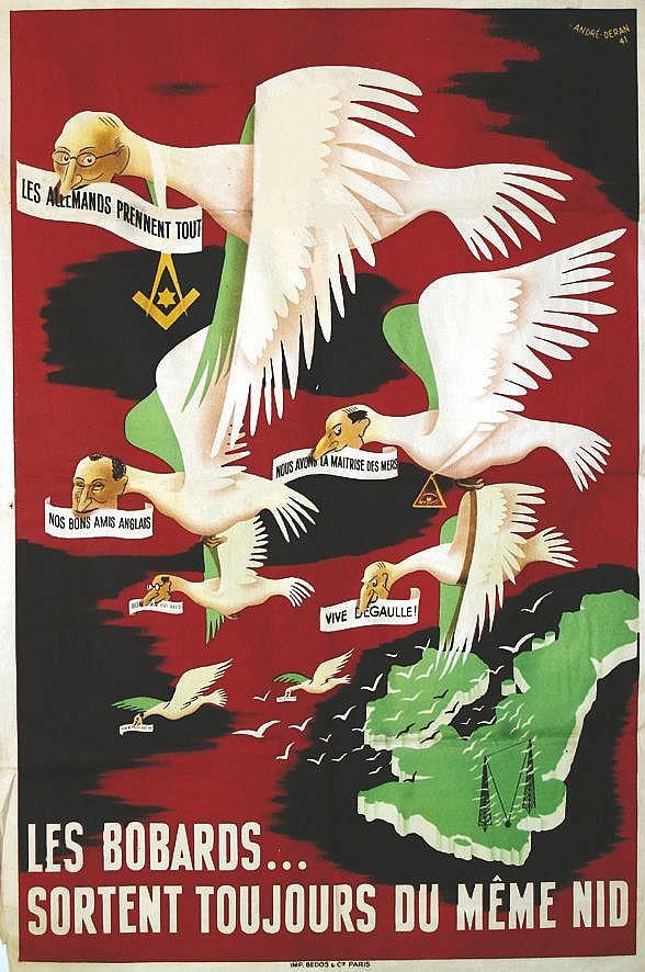 DERAN ANDRE Les bobards…sortent toujours du même nid 1941