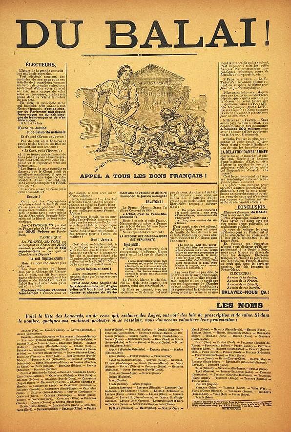 MILLO R.E.  Du Balais !     1905