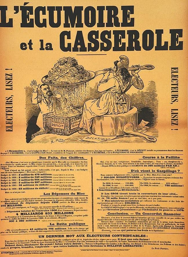 MILLO R.E.  L'ecumoire et la Casserole - Electeurs, Lisez !