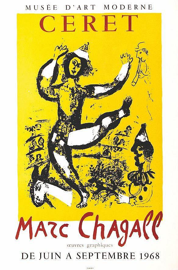 CHAGALL MARC  Le Cirque - Ceret     1968