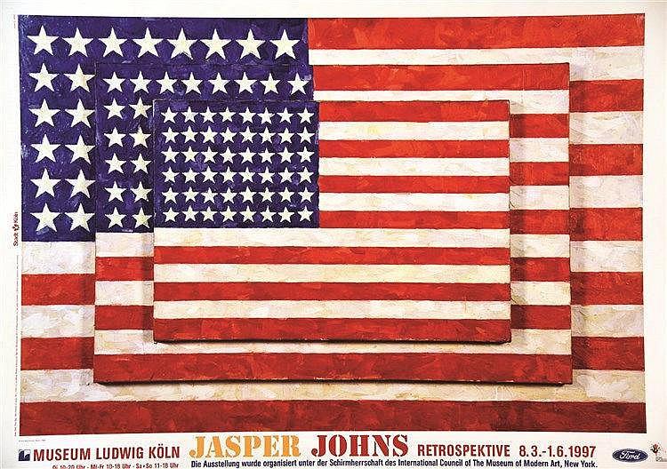 JOHNS JASPER  Jasper Johns Museum Ludwig Köln     1997