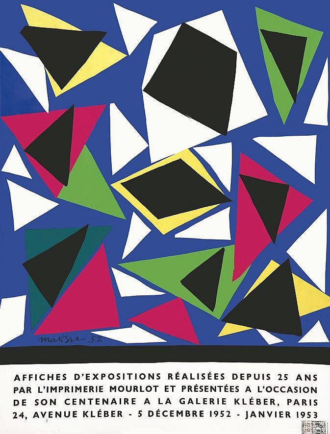 MATISSE  Matisse - 25 Ans Mourlot Affiches     1952