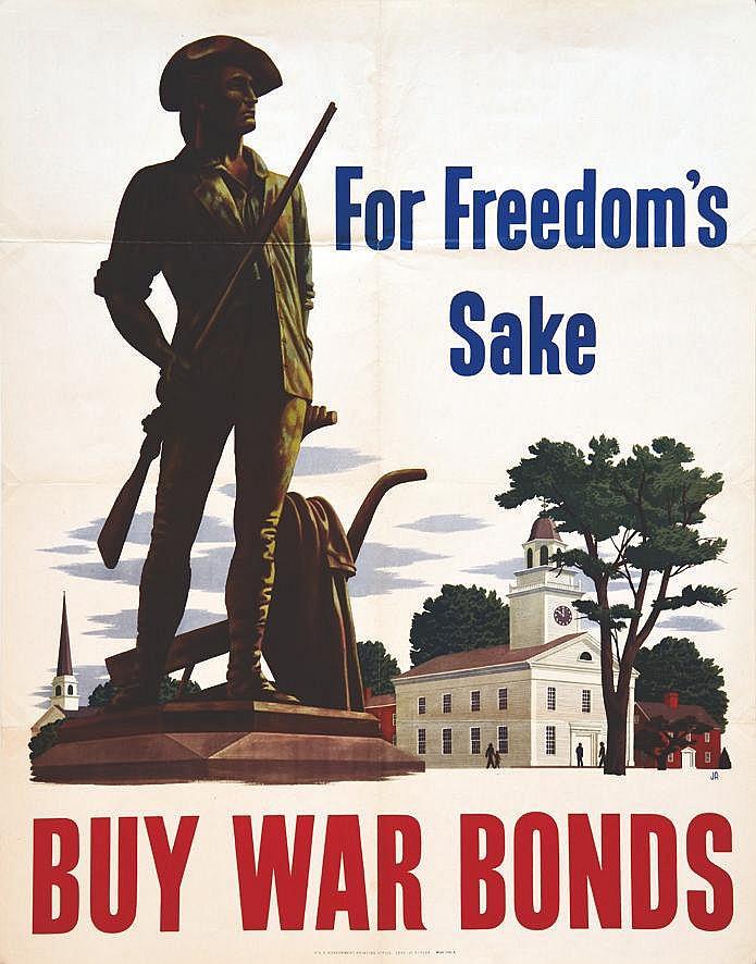 ATHERTON JOHN  For Freedom's Sake     1943