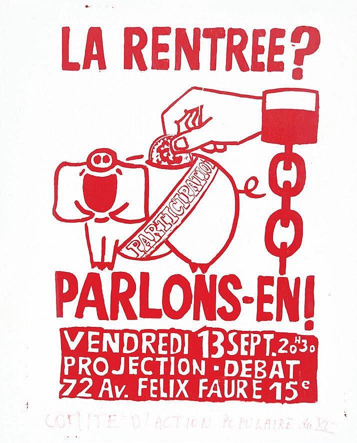 La Rentrée ? Parlons en ! - Participation     1968