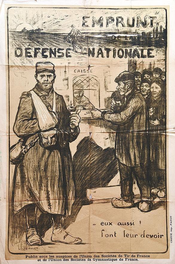 ADLER JULES  Eux Aussi! Font Leur Devoir     1914