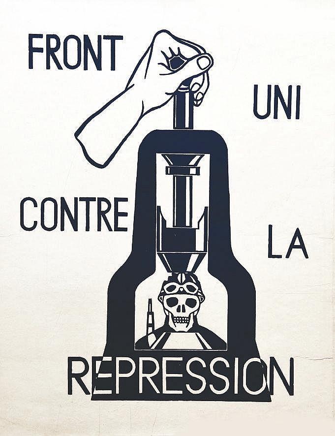 Front Uni contre la Répression Rare     1968