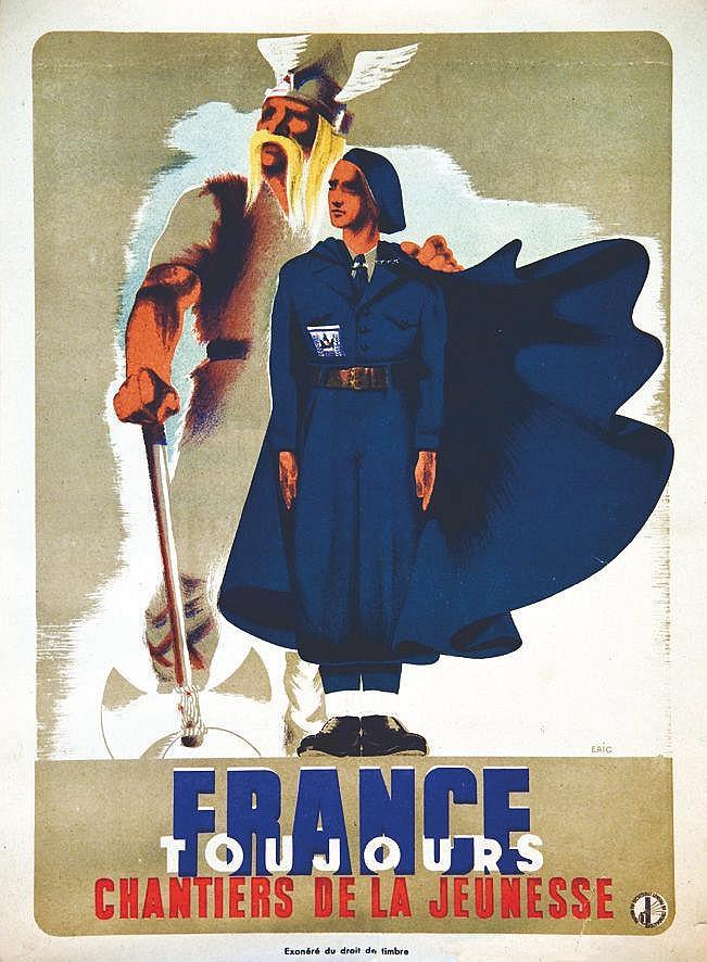 ERIC France toujours Chantiers de Jeunesse vers 1941