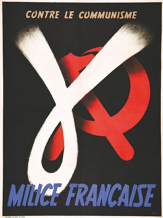 ERIC  Milice française contre le communisme     vers 1941