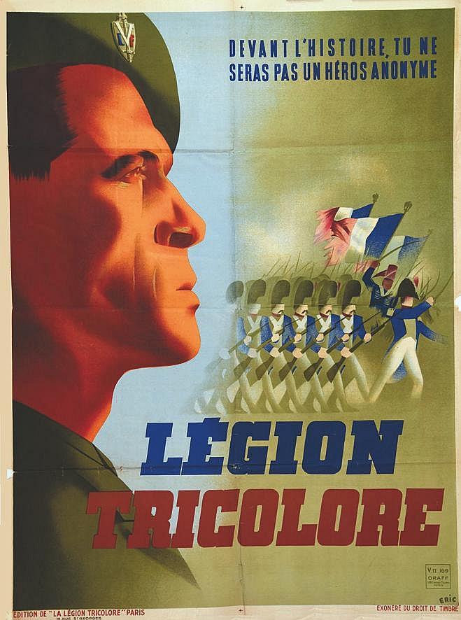 ERIC  Légion Tricolore - LVF     1942