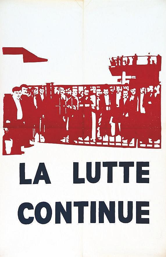La Lutte Continue     1968