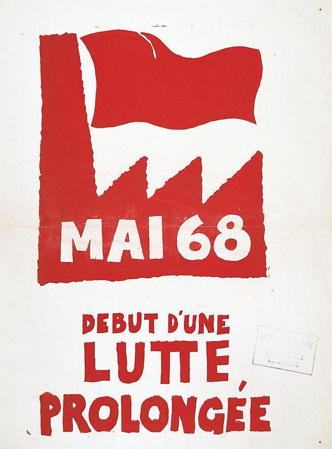 Mai 68 Début d'une lutte prolongée 1968