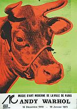 WARHOL ANDY  Andy Warhol - Musée d'Art Moderne de la Ville de Paris     1971