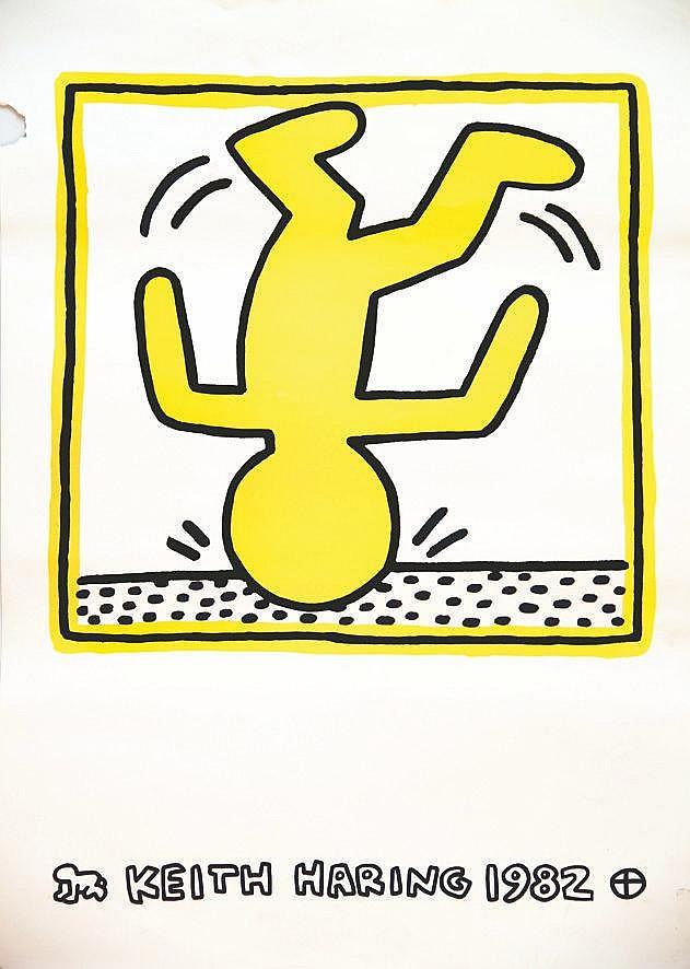 HARING KEITH Keith Haring 1982 1982