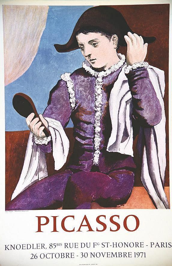 PICASSO PABLO  Picasso Knoedler Paris     1971
