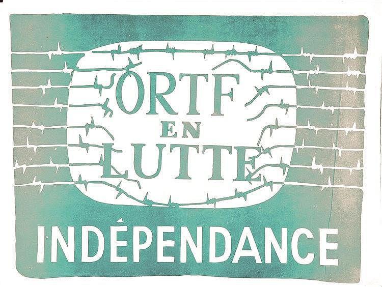 ORTF en lutte Indépendance 1968