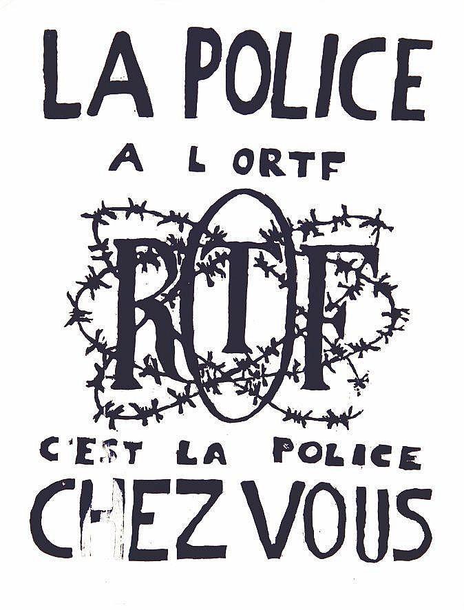 La Police à l'ORTF c'est la Police Chez Vous     1968