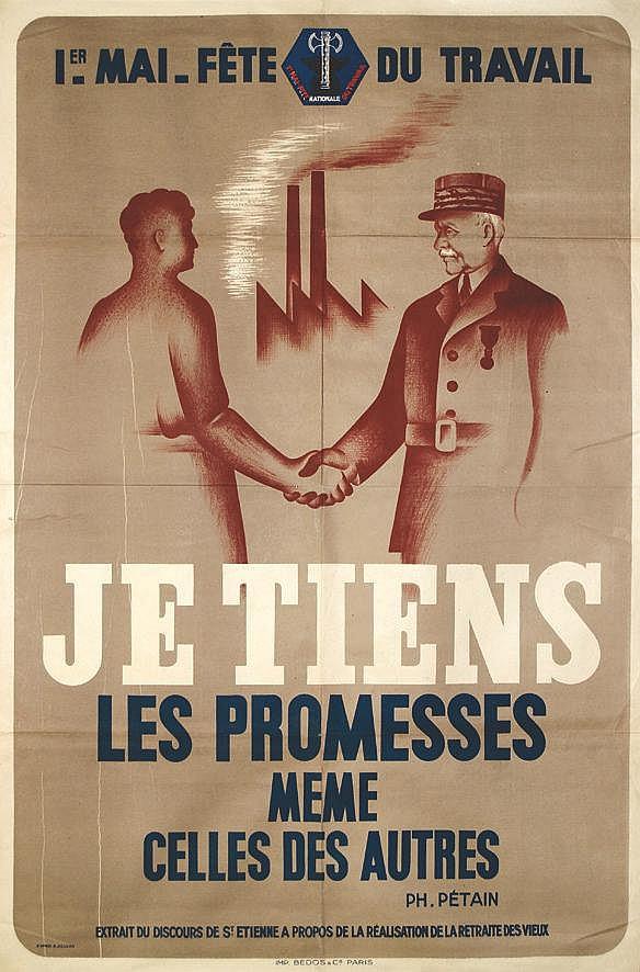 COUDON R. (d'après)  Je tiens les promesses même celles des autres       Saint Etienne (Loire)