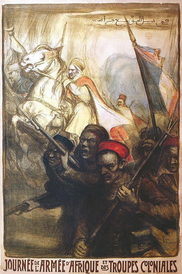 FOUQUERAY CHARLES Journée de l'Armée d'Afrique et des Troupes Coloniales 1917