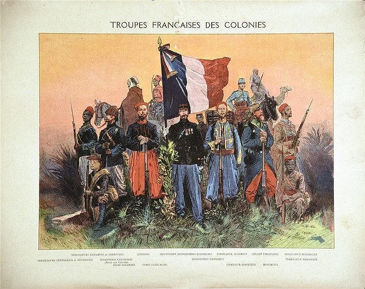 CARREY  Troupes Françaises des Colonies     1914