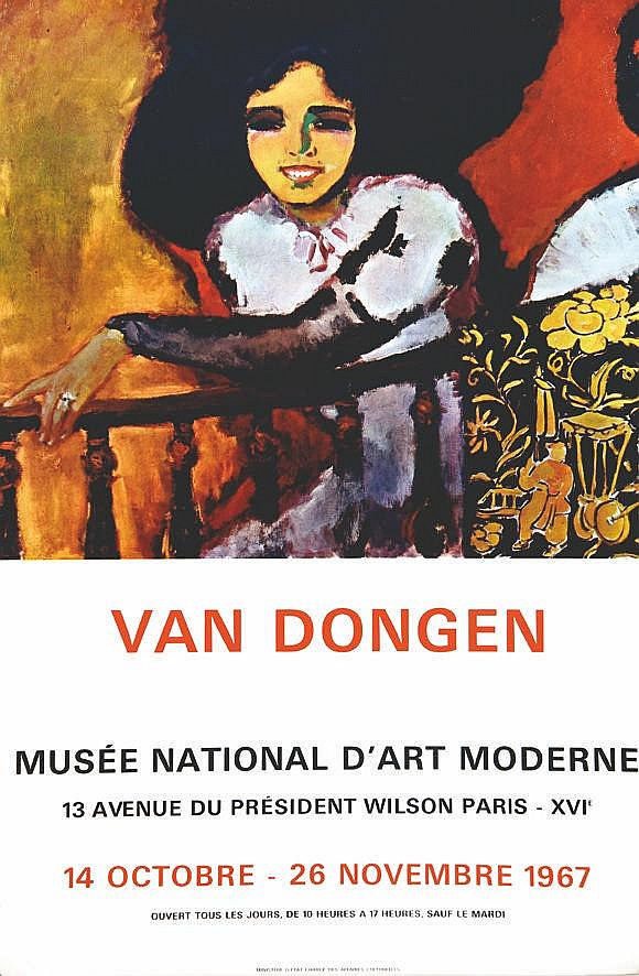 VAN DONGEN KEES  Van Dongen - Musée d'Art Moderne     1967