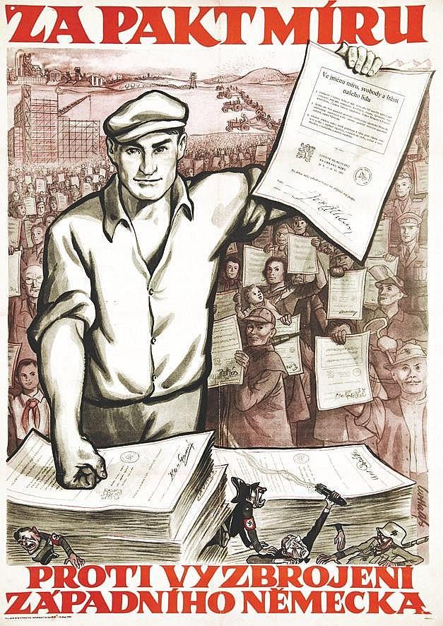 CWHAATS  Zapaktmiru Proti vyzbrojeni     1951
