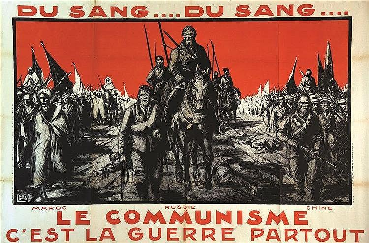 ALO Maroc Russie Chine - Le communisme c'est la Guerre Partout vers 1930