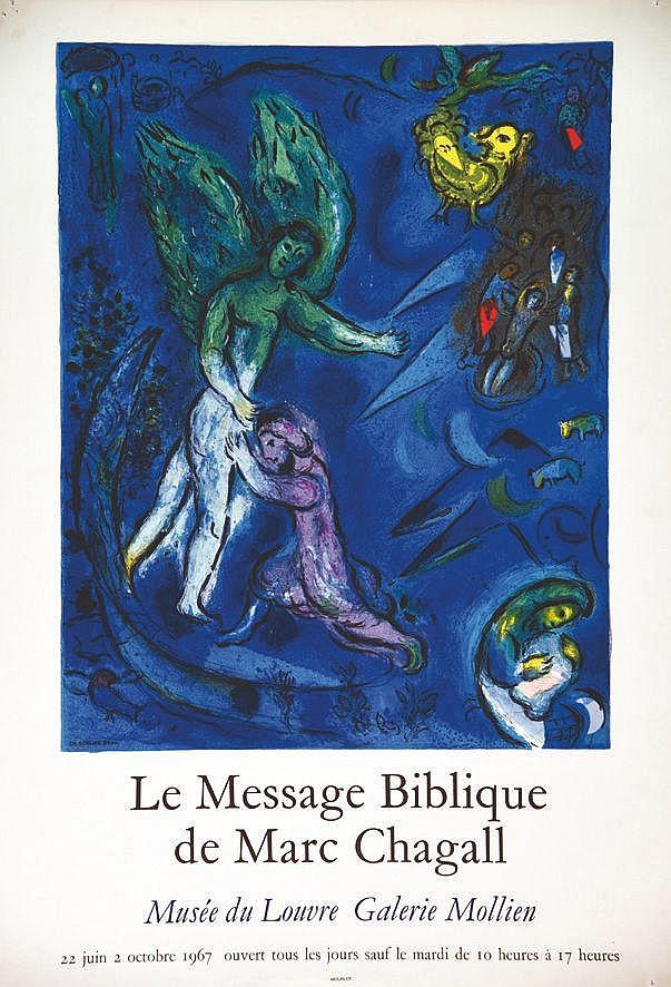 CHAGALL MARC  Le  Message Biblique de Marc Chagall Musée du Louvre     1967