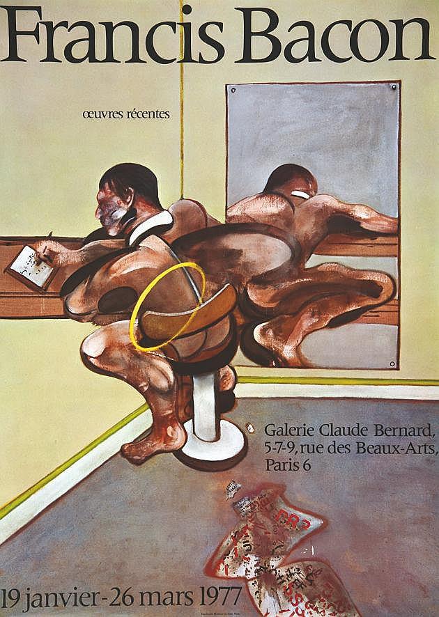 BACON FRANCIS  Francis Bacon Galerie Claude Bernard     1977