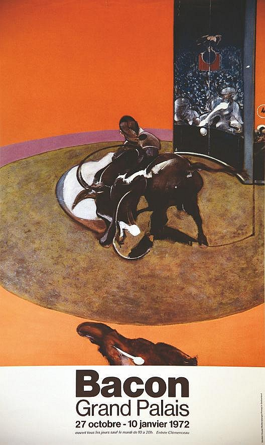 BACON FRANCIS Bacon Grand Palais 1972