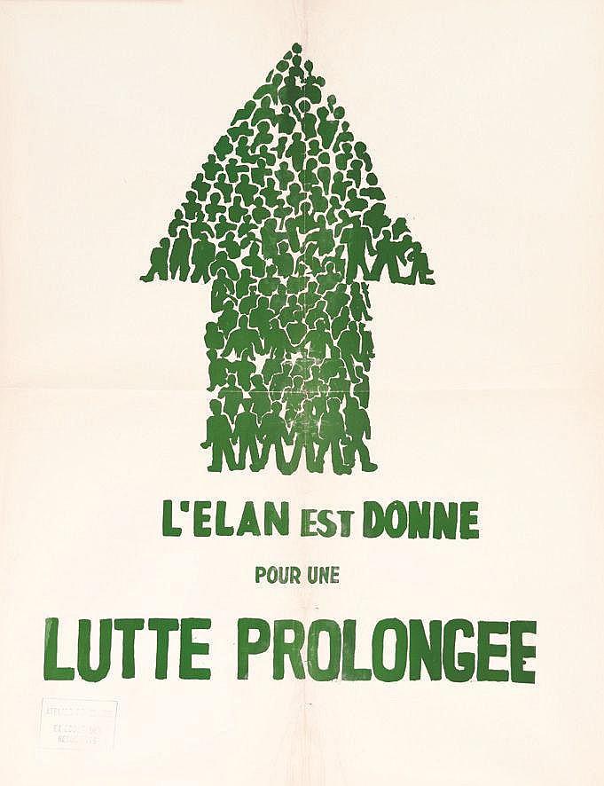 L'Elan est donné pour une Lutte Prolongé 1968