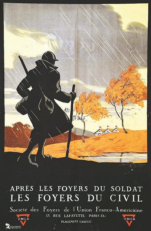 DORIVAL GEO Foyers du Soldat YMCA 1919