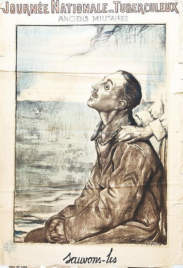 FAIVRE ABEL  Journée Nationale des Tuberculeux Anciens Militaires- Sauvons les     1915