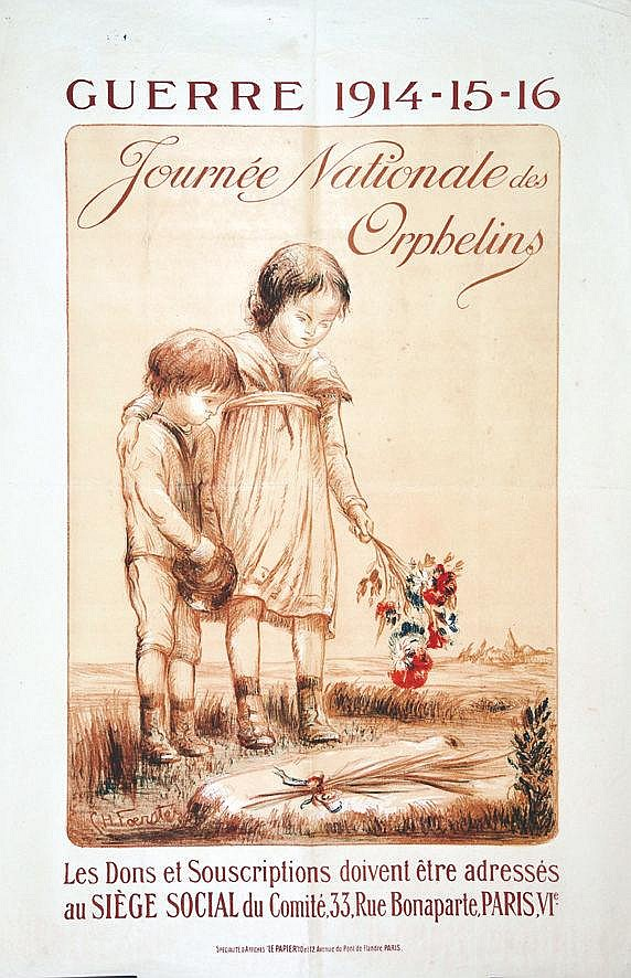 FOERSTER GH  Journée Nationale de Orphelins     1916
