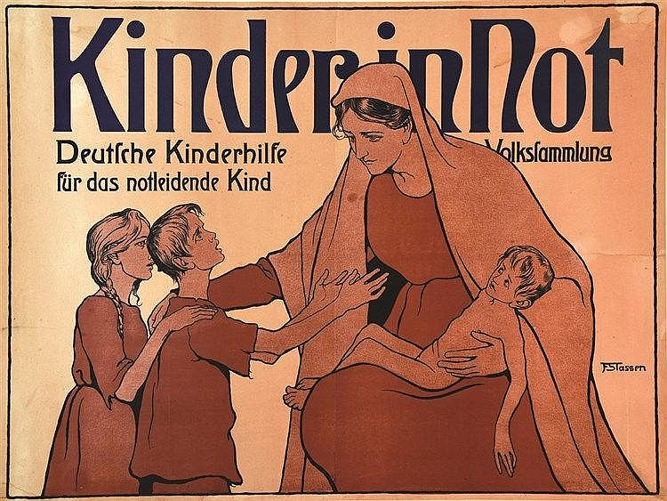STASSEN F  Kinder in Not     vers 1917