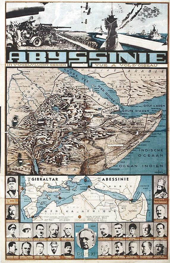 Abyssinie vers 1938