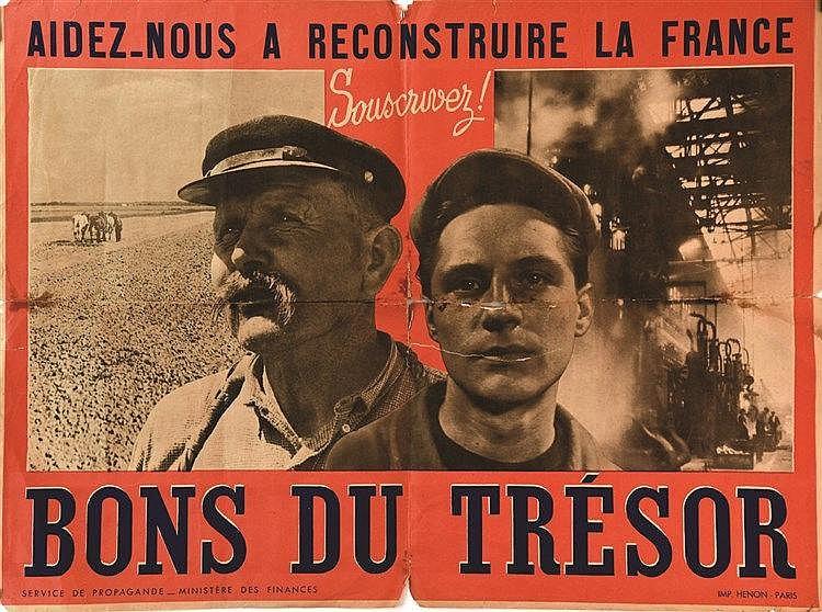 Bons du Trésor vers 1940