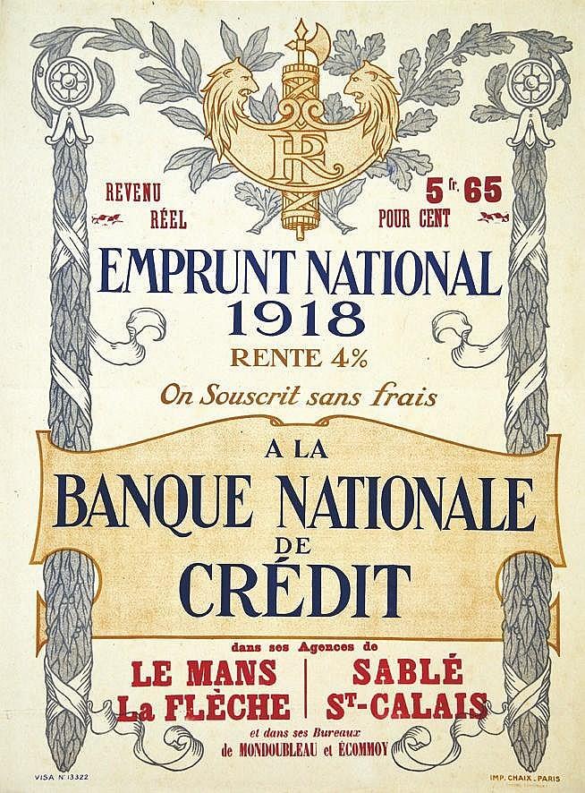 Banque Nationale de Crédit 1918