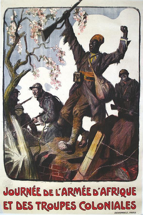 JONAS LUCIEN Journée de l'Armée d'Afrique et des Troupes Coloniales 1917