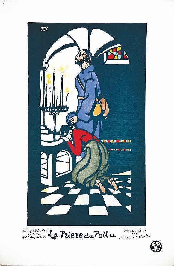 La Prière du Poilu     vers 1915