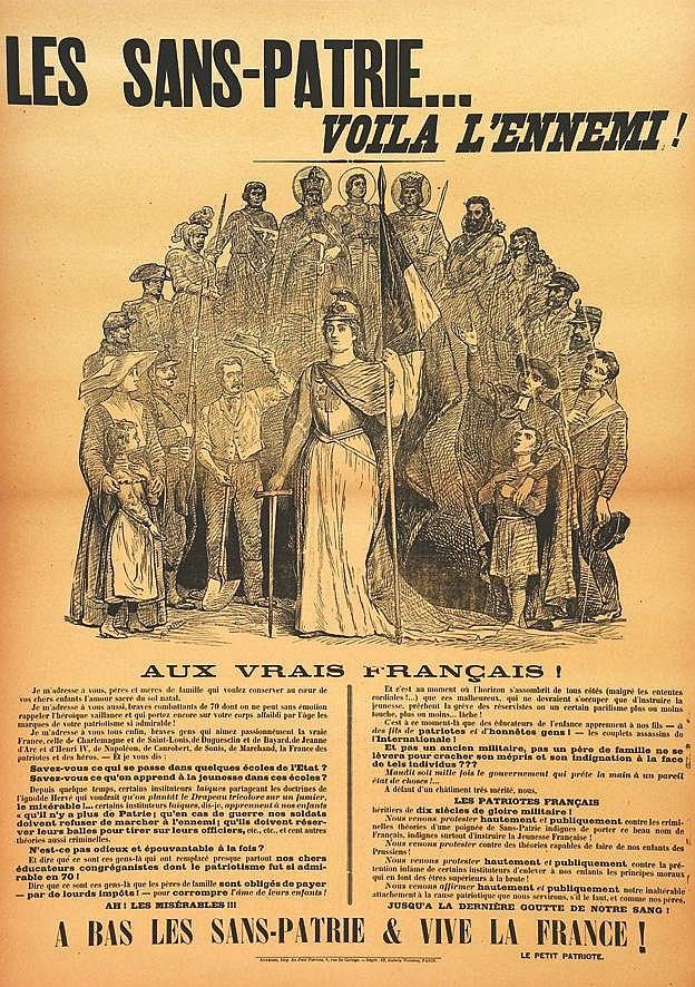 MILLO R.E.  Les Sans-Patrie… - Voila L'ennemi !     1905